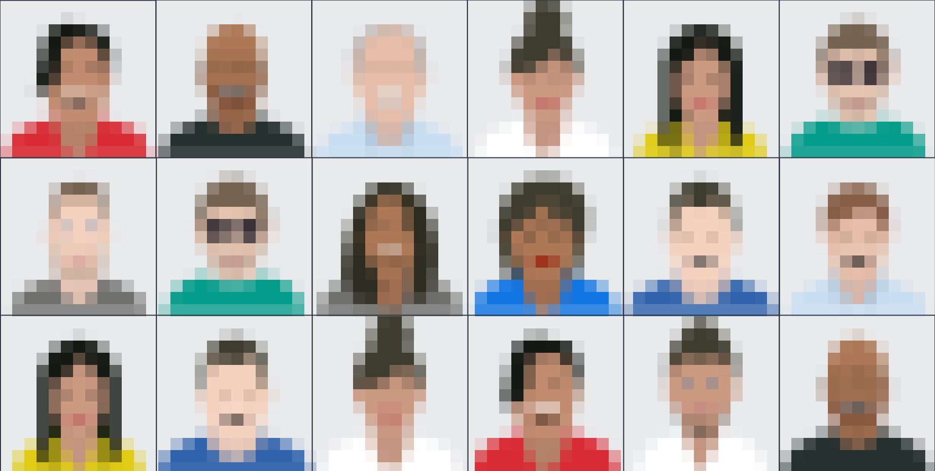 Kairos: 60 Facial Recognition Databases