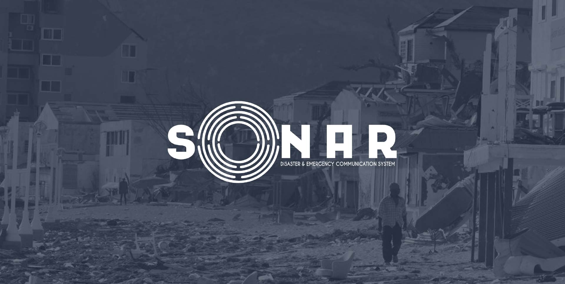 SONAR, De-centralized emergency management system for disiater relief